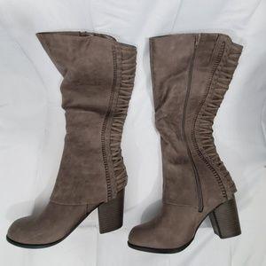 Fergalicious Women's Tender Knee High Boot Doe 12
